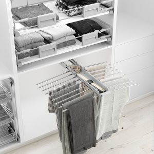 Pull-out trouser holders