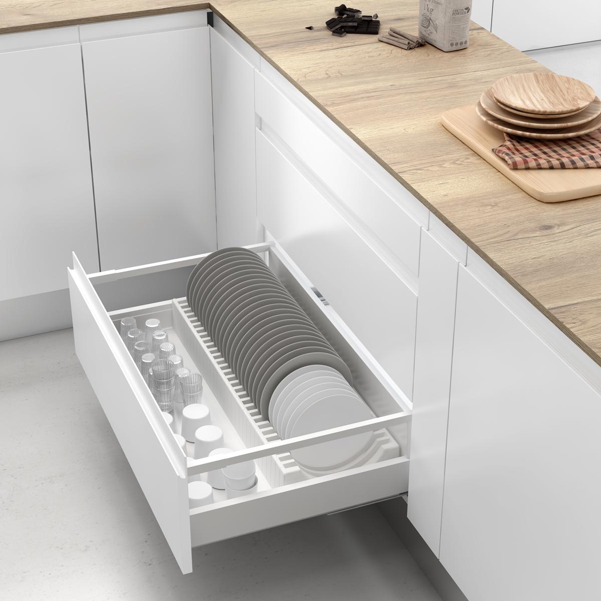 rangement des assiettes Cuisine-Unité de base-Rangement intérieur pour tiroirs-Range assiettes  CLASSIC