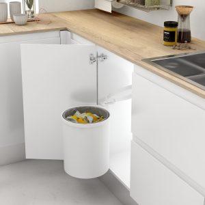 Cubo de basura extraíble para armario cocina