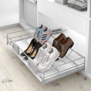 Zapatero extraíble completo para armario vestidor