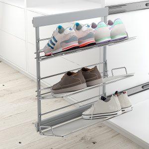 Zapatero extraíble y reversible para armario vestidor