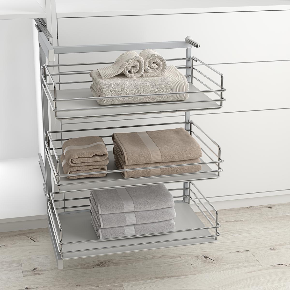 Cestos y estantes extraíbles archivos - Menage Confort