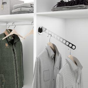 Soporte para colgar el traje dentro del armario