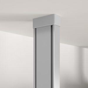 Componente independiente que fija el suelo con el techo para la fabricación de una estructura
