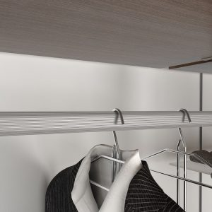 Tubo oval armario