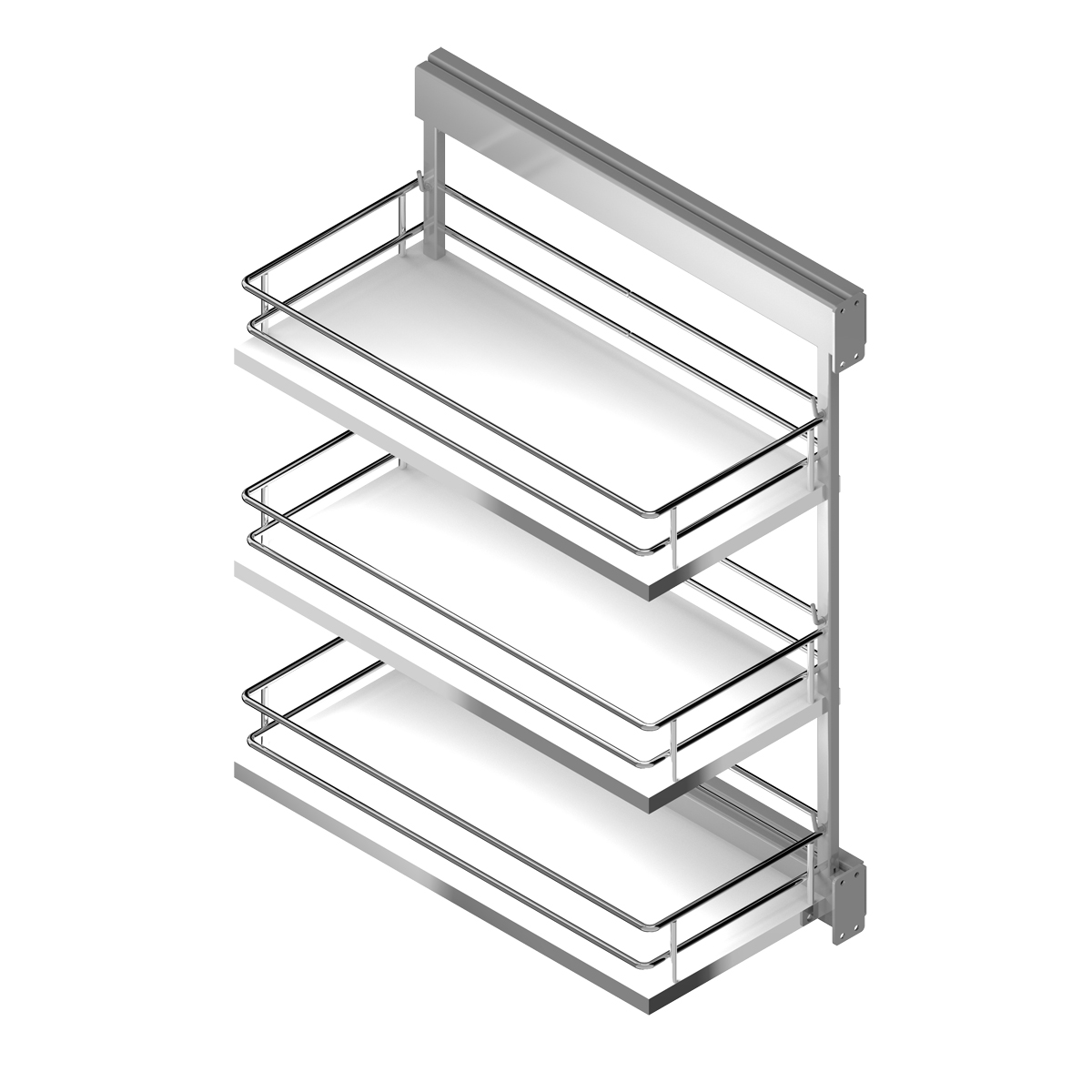 Pull-out frame side runners COMPACT - Menage Confort