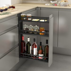 Botellero extraíble de diseño especial para cocinas modernas