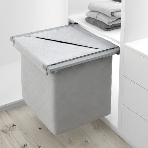 Tolva extraíble de tela para interior de armario vestidor