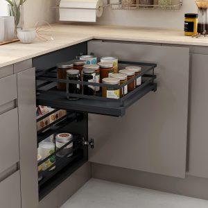 Cesto extraíble con diseño único para almacenar en la cocina