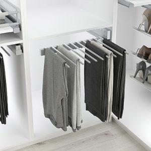 Pantalonero para vestidor